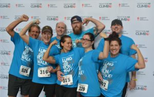 2016 LUNG Force Stair Climb